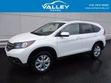 2014 White Diamond Pearl Honda CR-V EX AWD #119989015
