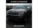 2017 Granite Crystal Metallic Jeep Grand Cherokee Limited 4x4 #119989367