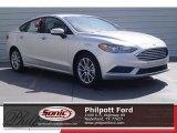2017 Ingot Silver Ford Fusion SE #119989239