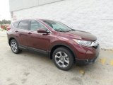 2017 Basque Red Pearl II Honda CR-V EX-L AWD #119989137