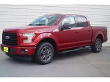 2017 Ford F150 XLT SuperCrew Front 3/4 View