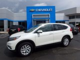 2015 White Diamond Pearl Honda CR-V EX AWD #119989188