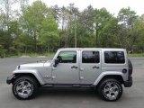 2017 Billet Silver Metallic Jeep Wrangler Unlimited Sahara 4x4 #119988992