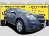 2014 Atlantis Blue Metallic Chevrolet Equinox LT #119989058