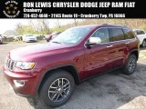 2017 Velvet Red Pearl Jeep Grand Cherokee Limited 4x4 #119989117