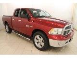 2014 Deep Cherry Red Crystal Pearl Ram 1500 Big Horn Quad Cab 4x4 #119989403