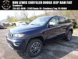 2017 True Blue Pearl Jeep Grand Cherokee Limited 4x4 #119989108
