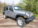 2017 Jeep Wrangler Unlimited Sport 4x4 Front 3/4 View