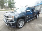 2017 Graphite Metallic Chevrolet Silverado 1500 High Country Crew Cab 4x4 #119989098