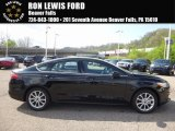2017 Shadow Black Ford Fusion S #120018132