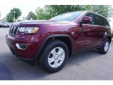 2017 Velvet Red Pearl Jeep Grand Cherokee Laredo #120018187