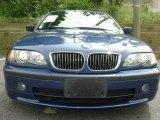 2003 Mystic Blue Metallic BMW 3 Series 330i Sedan #11984595