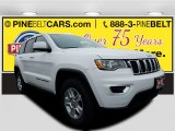 2017 Bright White Jeep Grand Cherokee Laredo 4x4 #120018097