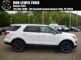 2017 Oxford White Ford Explorer XLT 4WD #120018134