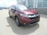 2017 Basque Red Pearl II Honda CR-V EX AWD #120044724