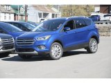 2017 Lightning Blue Ford Escape Titanium #120065297