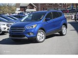 2017 Lightning Blue Ford Escape SE 4WD #120065296
