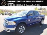 2017 Blue Streak Pearl Ram 1500 Big Horn Crew Cab 4x4 #120065260