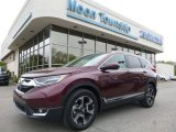 2017 Basque Red Pearl II Honda CR-V Touring AWD #120065327