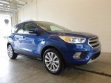 2017 Lightning Blue Ford Escape Titanium 4WD #120065285
