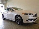 2017 White Platinum Ford Fusion SE AWD #120065284