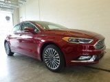 2017 Ruby Red Ford Fusion SE AWD #120065280