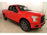 2015 Race Red Ford F150 XLT SuperCab 4x4 #120065425
