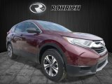 2017 Basque Red Pearl II Honda CR-V LX AWD #120065239