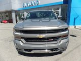 2017 Pepperdust Metallic Chevrolet Silverado 1500 LT Double Cab 4x4 #120065233
