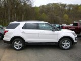 2017 White Platinum Ford Explorer XLT 4WD #120065340