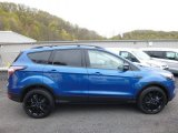 2017 Lightning Blue Ford Escape Titanium 4WD #120065338