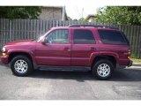 2005 Sport Red Metallic Chevrolet Tahoe Z71 #11985166