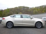 2017 White Gold Ford Fusion SE #120065336