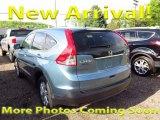 2014 Twilight Blue Metallic Honda CR-V EX AWD #120083995