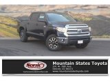 2017 Midnight Black Metallic Toyota Tundra SR5 CrewMax 4x4 #120083808