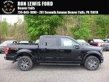 2017 Shadow Black Ford F150 XLT SuperCrew 4x4 #120083853