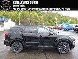 2017 Shadow Black Ford Explorer XLT 4WD #120083852