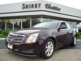 2009 Black Cherry Cadillac CTS 4 AWD Sedan #11975046