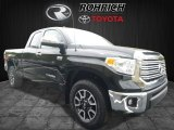 2017 Midnight Black Metallic Toyota Tundra Limited Double Cab 4x4 #120084113