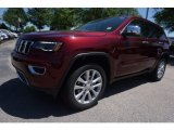 2017 Velvet Red Pearl Jeep Grand Cherokee Limited 4x4 #120106746