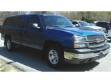 2003 Arrival Blue Metallic Chevrolet Silverado 1500 Regular Cab #120106864