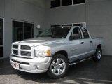 2005 Bright Silver Metallic Dodge Ram 1500 Sport Quad Cab #11970456