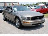 2005 Mineral Grey Metallic Ford Mustang V6 Premium Convertible #11983958