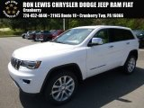 2017 Bright White Jeep Grand Cherokee Limited 4x4 #120125621