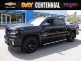2016 Black Chevrolet Silverado 1500 LTZ Crew Cab 4x4 #120125604