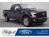 2017 Shadow Black Ford F150 XL SuperCab 4x4 #120125769