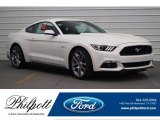 2017 White Platinum Ford Mustang GT Premium Coupe #120125760