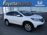 2014 White Diamond Pearl Honda CR-V EX AWD #120125878