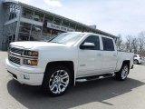 2014 White Diamond Tricoat Chevrolet Silverado 1500 High Country Crew Cab 4x4 #120125702