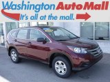 2014 Basque Red Pearl II Honda CR-V LX AWD #120125649